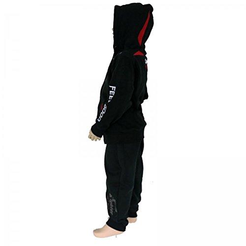 Un rouge Jogging Suit De Noir Survêtement 4fighter tenue Avec Zip leisure Kids pq7101T