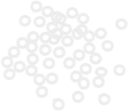 Tachiuwa ダーツ シャフト Oリング グロメットワッシャー ゴムリングセット 約4×2×1mm 約100個セット