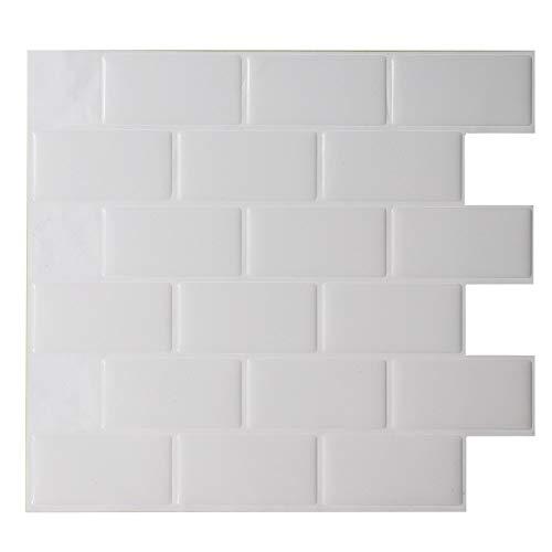 Fostudork Dog Wall Stickers, Self Adhesive Proof TV Background 3D Brick Wallpaper Living Room Kitchen Mosaic Tile…
