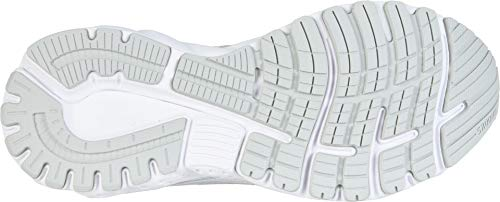Brooks Women's Adrenaline GTS 19 White/White/Grey 5 B US by Brooks (Image #2)