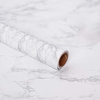 Amazon.com: Marble Paper - Papel pintado para encimera de ...