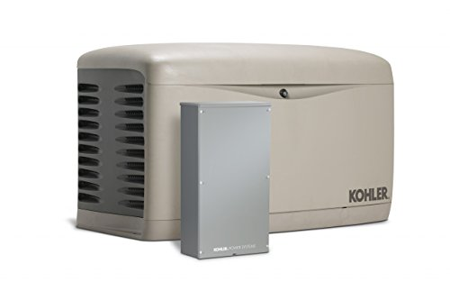 Kohler 14kW Air Cooled Standby Generator and 200 Amp SE Rated Automatic Transfer Switch |