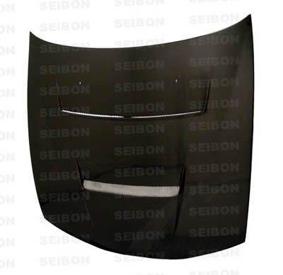 Seibon Carbon Fiber DV-Style Hood Nissan 240SX S14 97-98