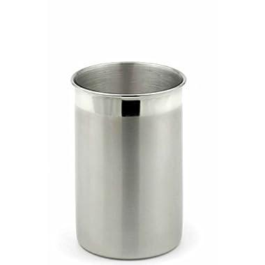 StainlessLUX 75333 Two-tone Stainless Steel Utensil Holder / Kitchen Crock
