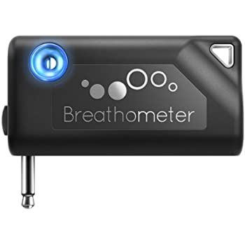 Breathometer A01 Smartphone Breathalyzer for IOS and Android, Black