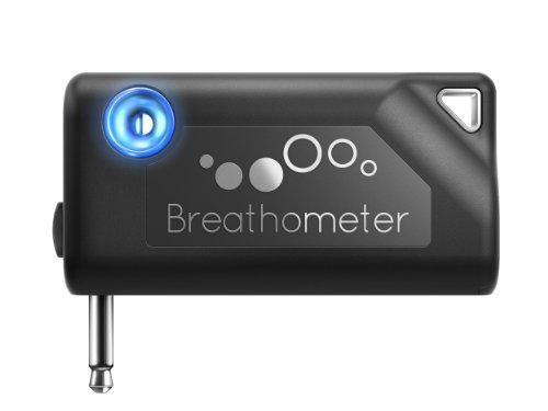 Breathometer A01 Smartphone Breathalyzer for IOS and Android, Black (Iphone Breathalyzer Shark Tank compare prices)