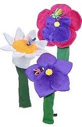 Winning Edge Designs Flower Headcover( MODEL: Violet, COLOR:N/A, LENGTH:N/A ), Outdoor Stuffs