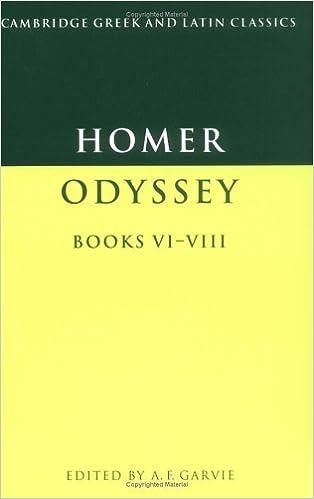 the odyssey books vi viii cambridge greek and latin classics