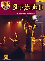 Hal Leonard Black Sabbath - Guitar Play-Along Volume 67 Book and ()