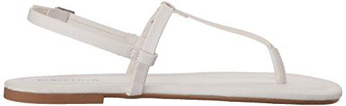 Belo Nautica Hvit Flat Kvinners Sandal T7rBwq57x