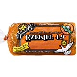 Food for Life - Ezekiel 4:9 Bread, Sprouted Whole Grain Bread, (Vegan, High Fiber & Sprouted Grains), Buy SIX Loaves and SAVE, Each Loaf is 24 Oz (Pack of 6)