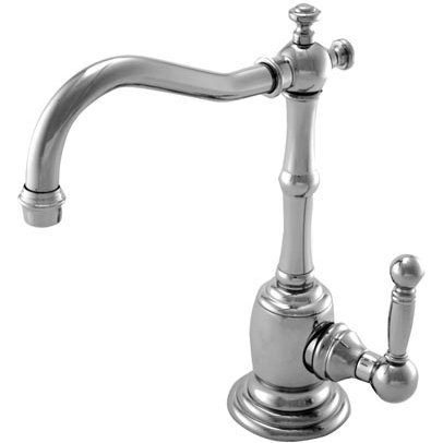 Newport Brass 108C Chesterfield Single Handle Cold Water Dispenser from the 940, Polished Nickel