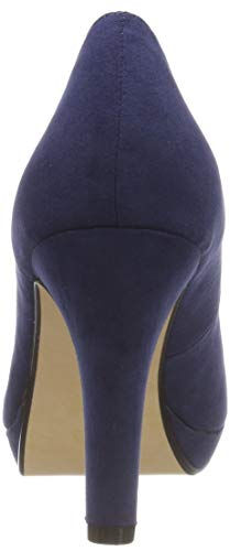 Buffalo Bhwmd Blue Toe Sued 00 Navy Women's IMI Pumps Carnelian A300 Closed aqxwa1HrA