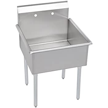 Amazon ace 1 compartment stainless steel sink with left elkay 1 compartment professional grade commercial kitchen stainless steel sink 18w x 21 workwithnaturefo