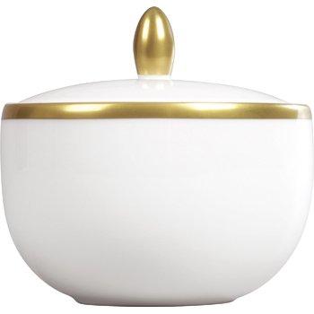 Plato Gold Covered Sugar Bowl