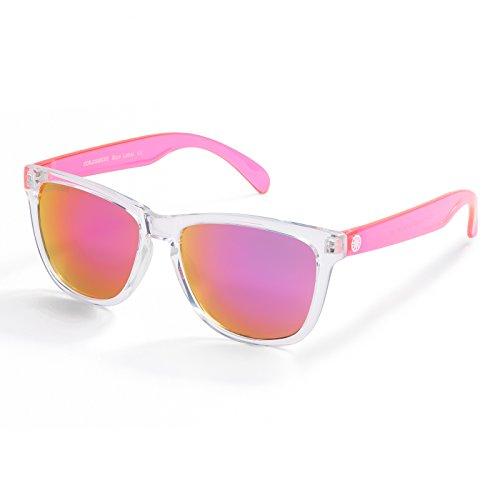 Vacation Fashion Sunglasses for Women, Mirrored Lens 100%UVA/UVB Protection FDA - Uva Protection Sunglasses Uvb