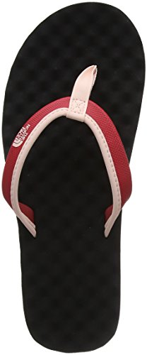 s Base Camp Mini Beach Lightweight Summer Flip Flops - Dark Pink/Black - 9 ()