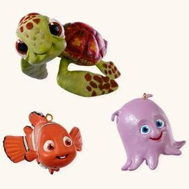 hallmark keepsake finding nemo miniature christmas ornaments - Finding Nemo Christmas Decorations