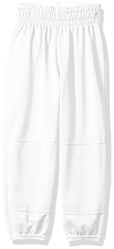 Wilson Youth Basic Classic Fit Baseball Pant, White, X-Small]()
