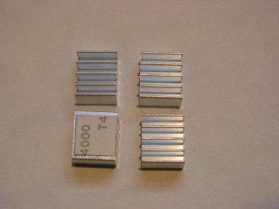 Xbox 360 RAM Heatsinks (20 pcs) for HANA ANA Southbridge RAM Chips - Upgrade Cooling Repair - Prevent RROD -