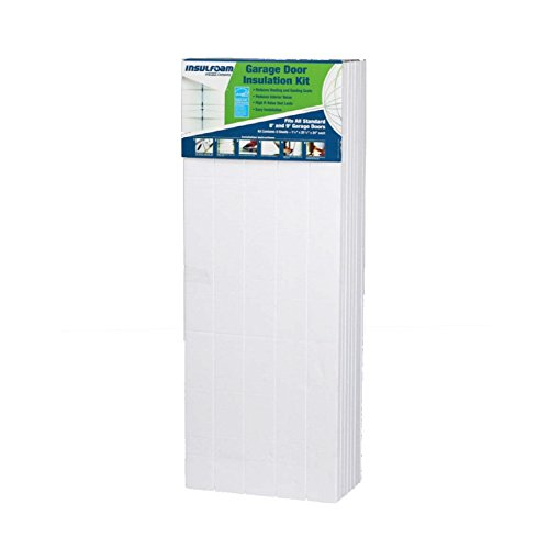 Insulfoam R4.8 Faced Polystyrene Garage Door Foam Board Insulation 8ft Door Kit