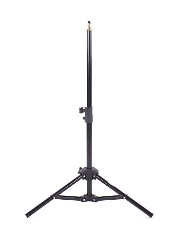 Fovitec - 1x 32 Photography & Video Miniature Tabletop Light Stand - [For Lights, Reflectors, & Modifiers][Collapsible][Cast Metal][Universal Mount]