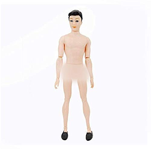 MS-Y 1 Piece 30cm 14 Moveable Jointed Doll Body Nude Naked Body Soldier Ken Male Dolls for DIY by Yourself