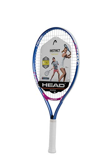 HEAD Instinct Kids Tennis Racquet - Beginners Pre-Strung Head Light Balance Jr Racket - 23