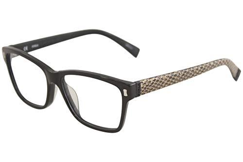 Furla Eyeglasses Candy VU4870 VU/4870 700X Shiny Black Optical Frame 53mm