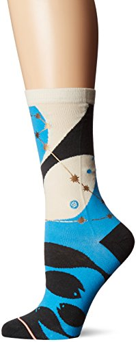 Stance Women's Pisces Zodiac Crew Sock, Multi, Medium