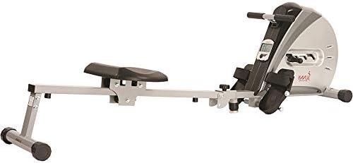 Sunny Health & sf-rw5606Cuerda elástica máquina de Remo de Fitness 10