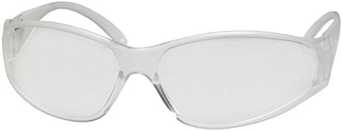 12x Ultra Lightweight Clear Lens Safety Specs plastic Glasses