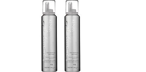 New Kenra Platinum Thickening Mousse Size 6.7oz Two Pack Dea