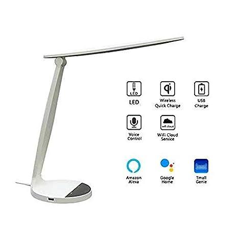 Lámpara de mesa LED, Touch Console luz 3 colores 5 tipos de ...