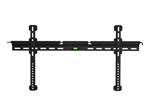 Monoprice Ultra-Slim Fixed TV Wall Mount Bracket for TVs 32in to 55in Max Weight 143 lbs VESA Patterns Up to 800x400 Security Brackets