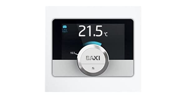 Cronotermostato de pared Baxi Mago con módulo WiFi y Kit Adaptador caldera: Amazon.es: Hogar