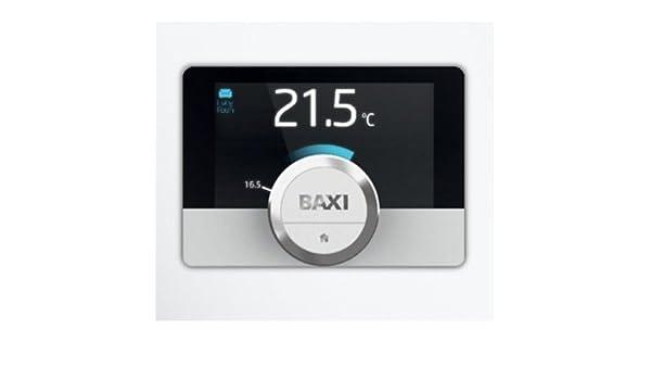 Cronotermostato de pared Baxi Mago con módulo WiFi y Kit Adaptador caldera: Amazon.es: Hogar