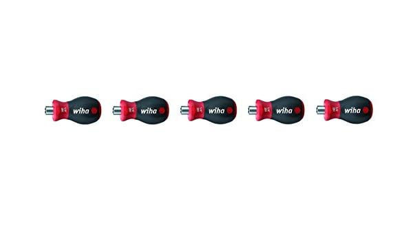 American Shifter 108313 Black Shift Knob with M16 x 1.5 Insert Red 5 Speed Shift Pattern - 5DR-RDL