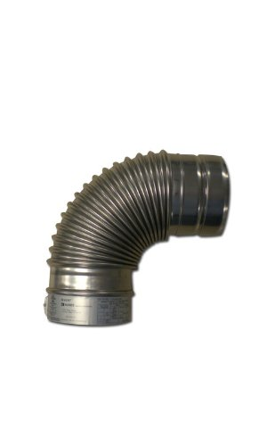 Noritz VP5-90ELBOW 5-Inch Diameter by 90 Degree Stainless Steel Single Wall Venting