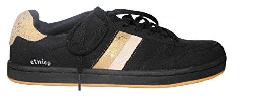 Etnies Skateboard Damen Schuhe Dublin Black/Gold sneakers shoes