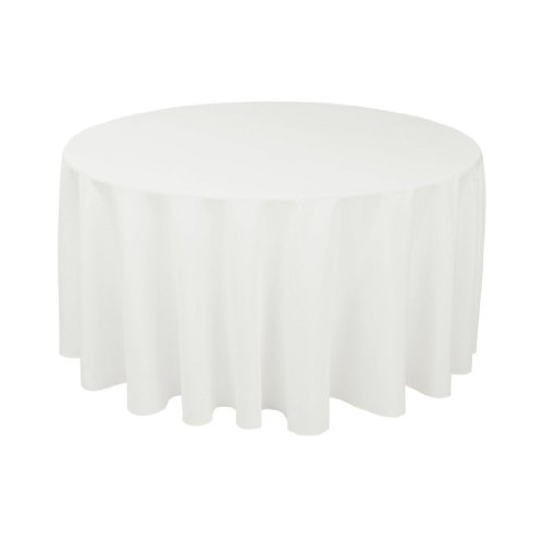 (Craft and Party - 10 pcs Round Tablecloth for Home, Party, Wedding or Restaurant Use. (120