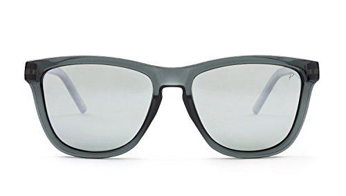 Caipirinha Gafas KYPERS de Sol Grey Unisex 54 Silver Clear Mirror dFOwqO5