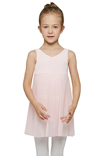 Large Product Image of MdnMd Girls' Tank Leotard Dress