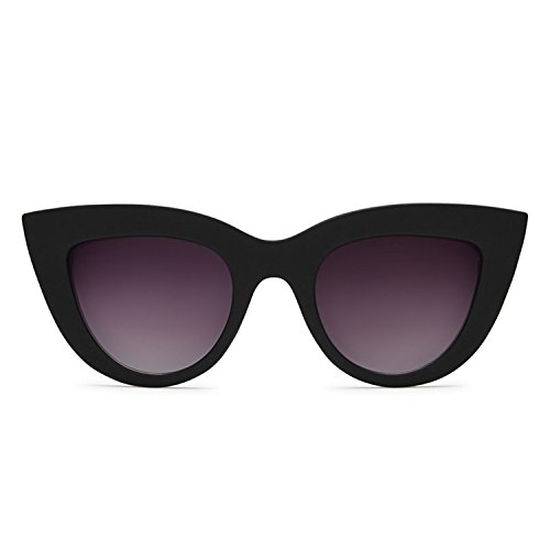 Quay Australia KITTI Women's Sunglasses Vintage Cat Eye Thick Frames - - Sunglasses Kitti