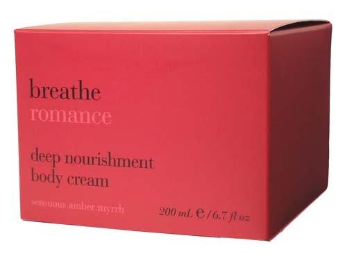 - Bath & Body Works Breathe ROMANCE Sensuous Amber Myrrh Deep Nourishment Body Cream, 6.7 fl oz (200 ml)