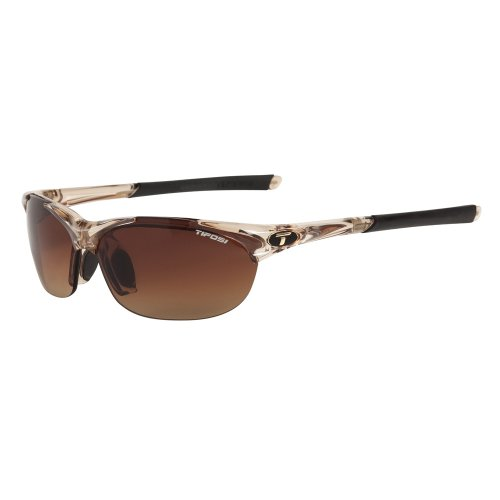 Tifosi Wisp Interchangeable Lens Sunglasses - Crystal - Tifosi Sunglasses Wisp