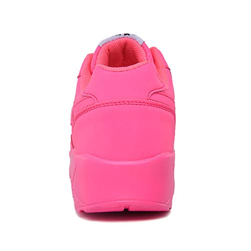 Zapatillas De Planas Zapatillas Ocasionales Zapatillas Practicar Deportivas Deporte Rosered Zapatillas Antideslizantes R Para Cuero De Deporte Senderismo Femeninas YR De qvRnxXwAUn