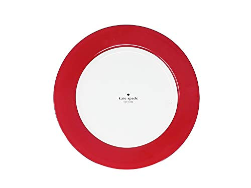 Kate Spade New York Rutherford Circle Navy (set of 4) Dinner plate 11.2