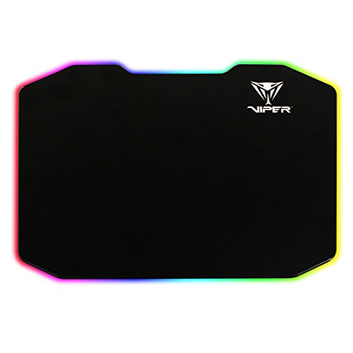 31HY%2BiWqQxL - Patriot-Memory-Viper-Gaming-LED-Pro-Gaming-Mouse-Pad-High-Performance-Polymer-Surface-PV160UXK