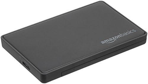 AmazonBasics - 6,35 cm SATA-Festplattengehäuse, USB 3.0